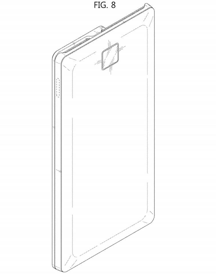 samsung smartphone coulissant