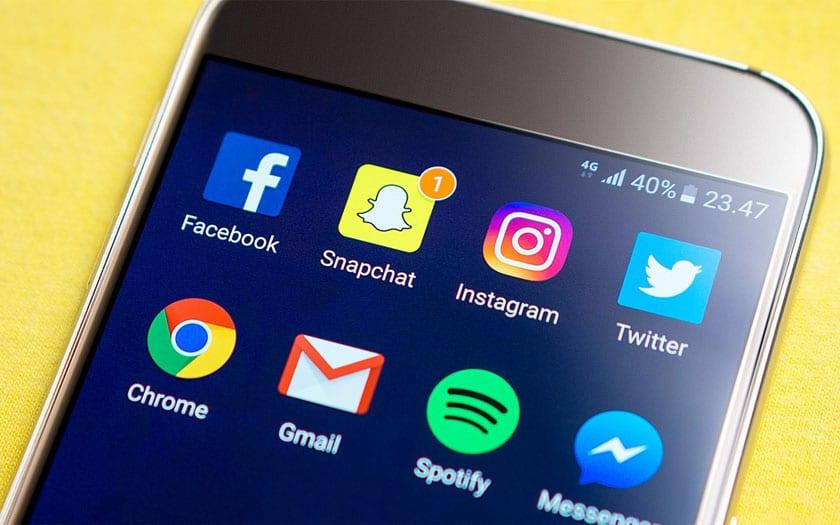 Les jeunes Français passent plus de temps sur Snapchat que Facebook