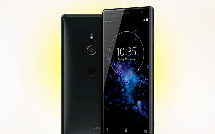 sony xperia xz2 rendu officiel