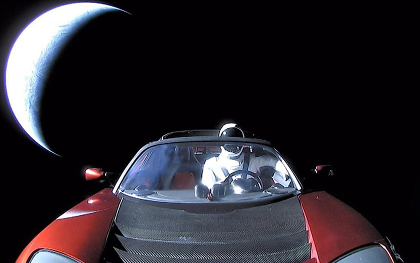 tesla roadster spacex starman