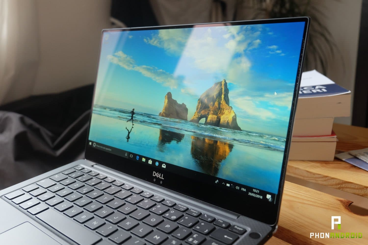 test dell xps 13 2018 ecran reflets