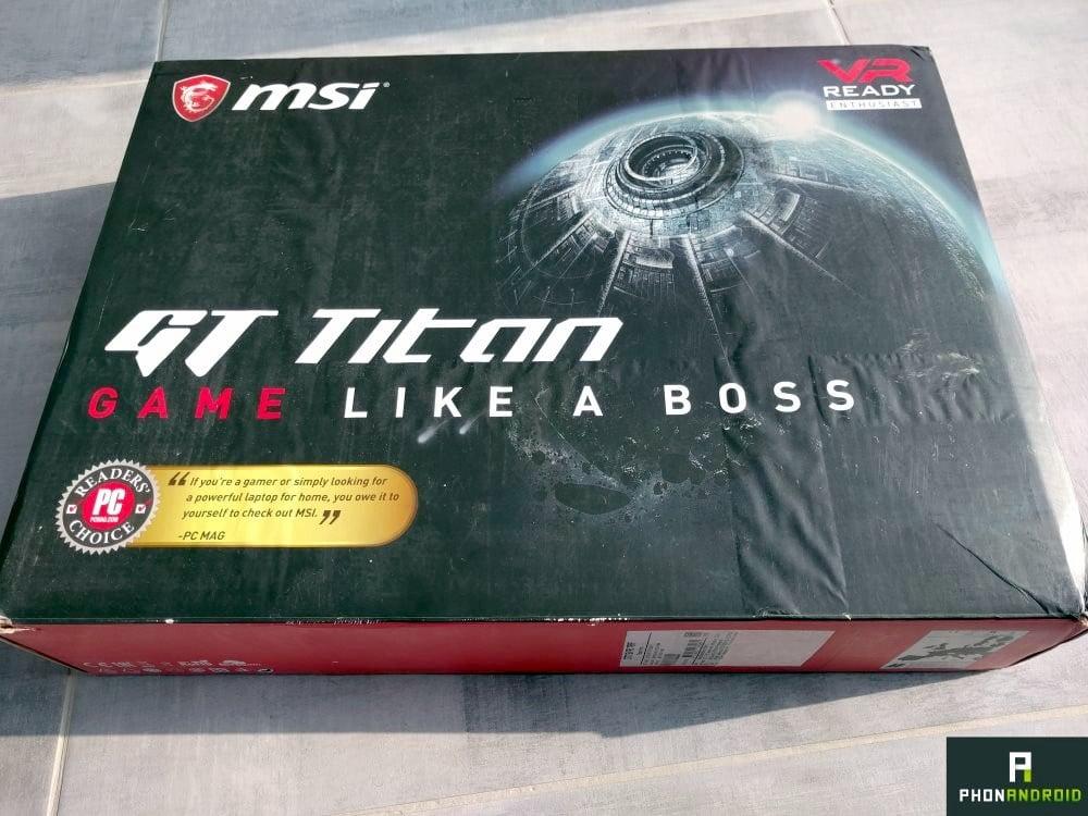 test msi gt titan