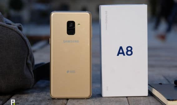 test samsung galaxy a8 design