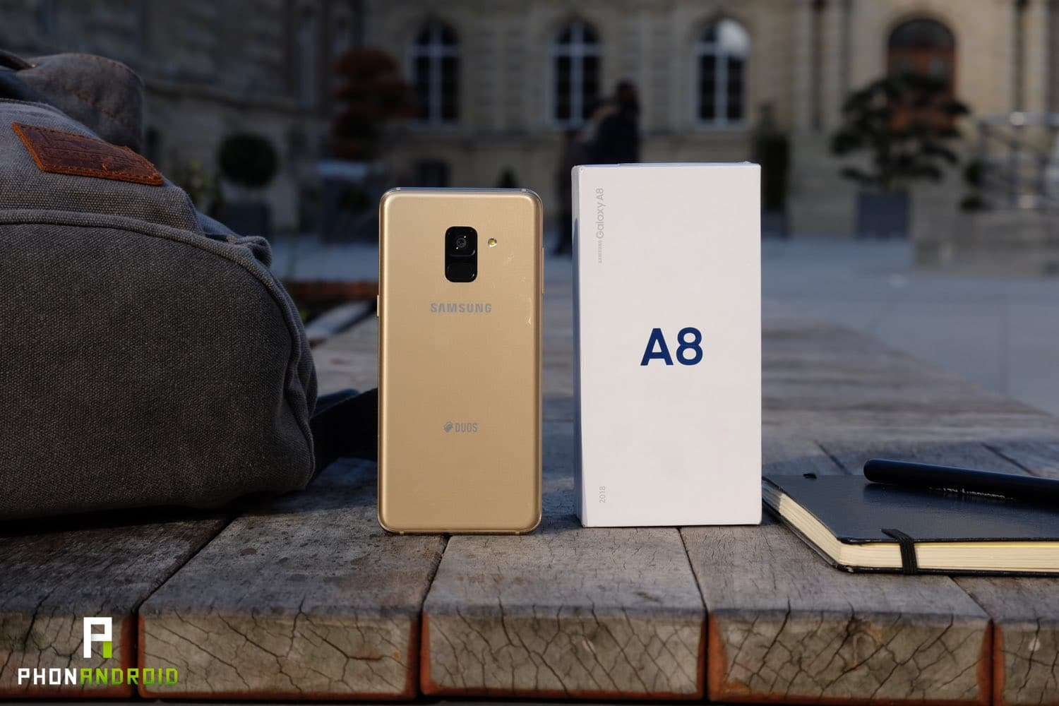 test samsung galaxy a8