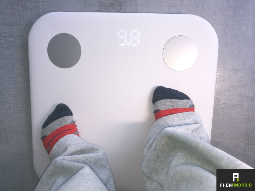 test xiaomi mi body composition scale