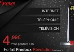 vente privee freebox revolution rupture stock