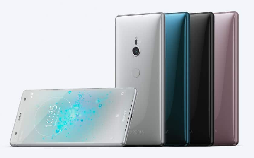 xperia xz2 officiels