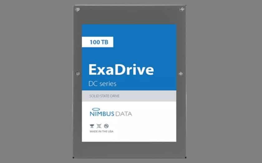 ExaDrive DC100 ssd 100 to
