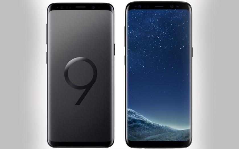 galaxy S9 S8