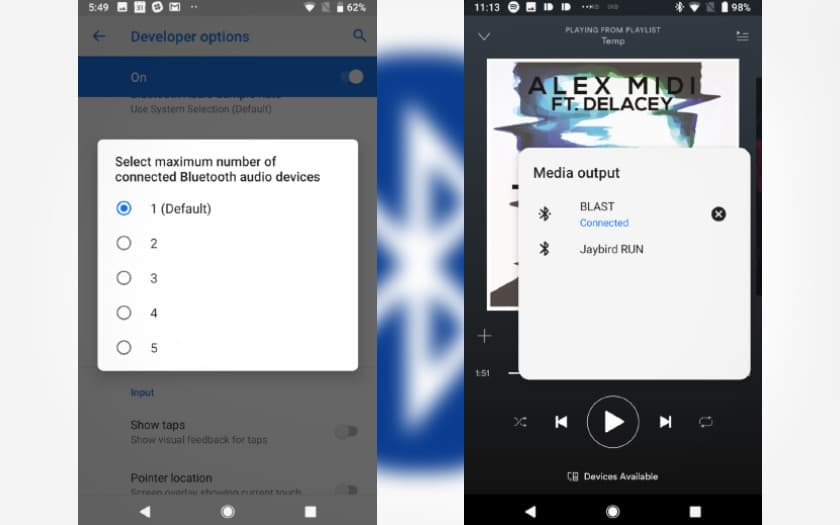 android p bluetooth