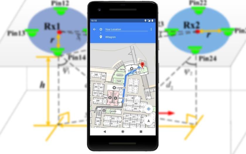 android p localisation interieur batiments