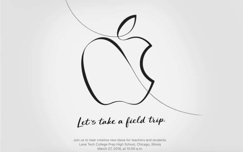 apple invitation conférence keynote