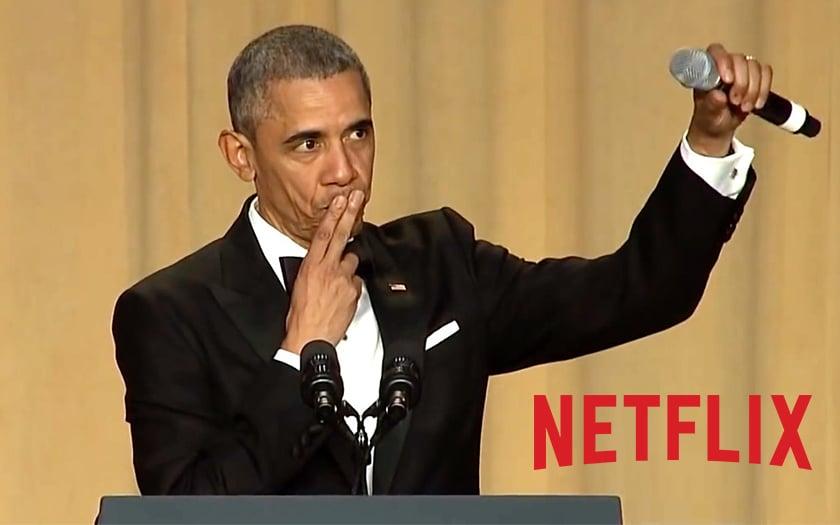 Le couple Obama négocie un partenariat avec Netflix