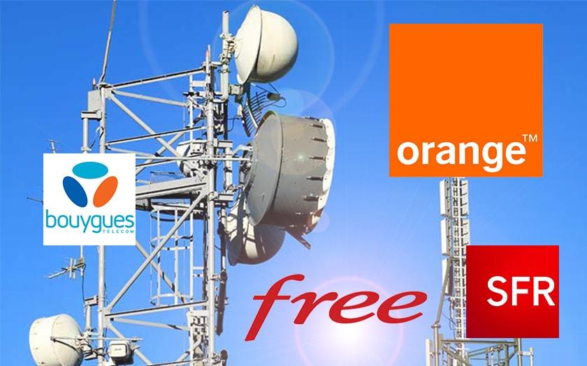 Déploiement 4G : Free Mobile, Orange, SFR et Bouygues ont baissé de rythme en mai