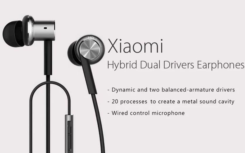 écouteurs intra-auticulaires xiaomi mi IV moins cher à 13 € gearbest