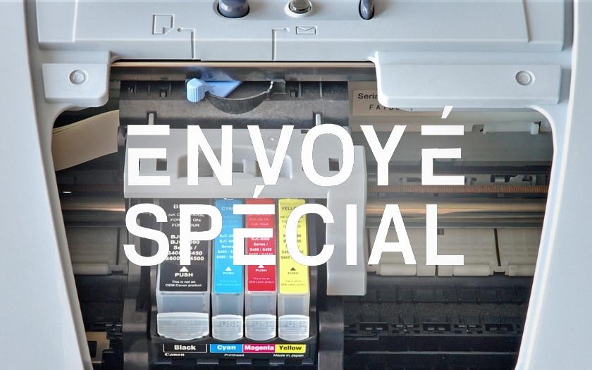 envoye special imprimantes
