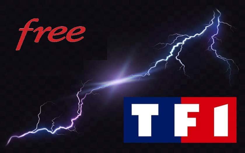 free TF1 message coupure