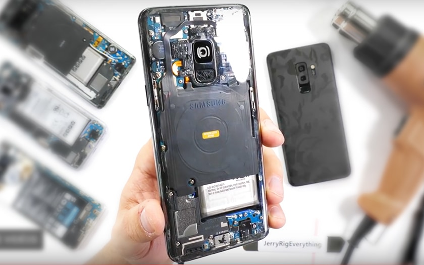 galaxy S9 transparent