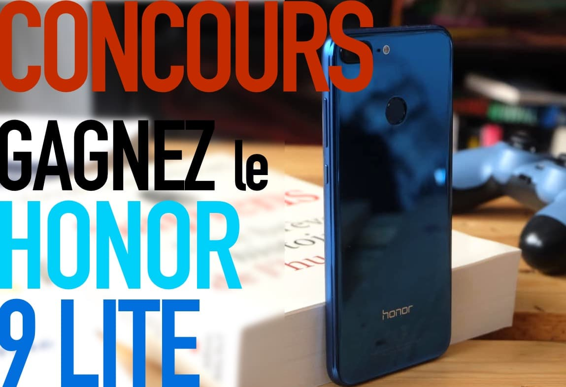 honor 9 lite concours