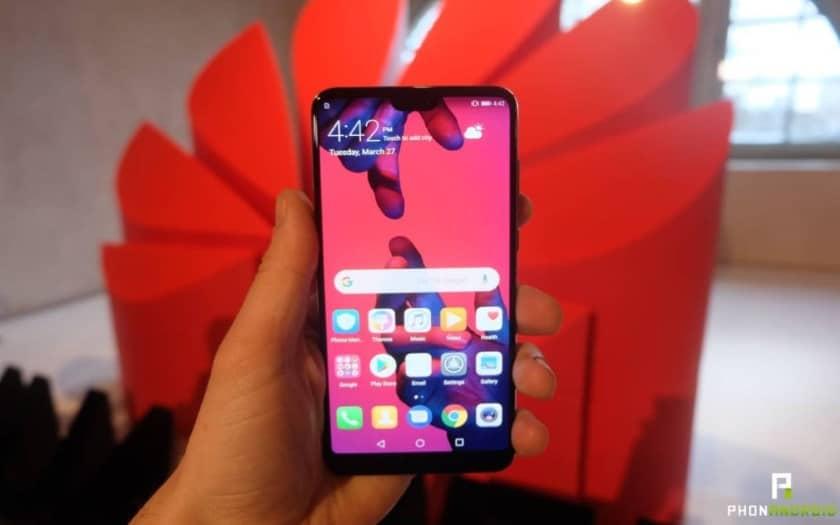 huawei millions smartphones benefice