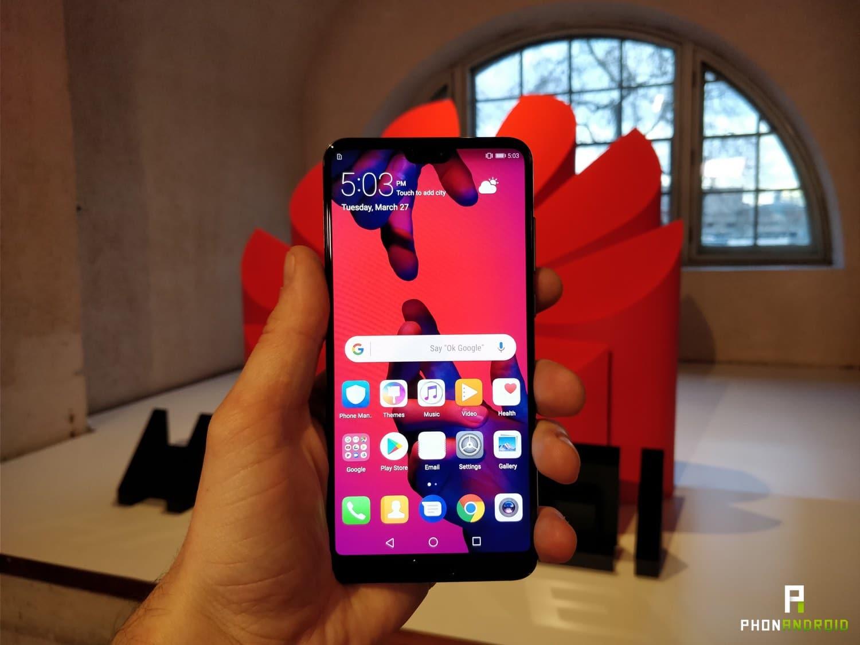 Prise en main du Huawei P20 Pro : le meilleur smartphone de