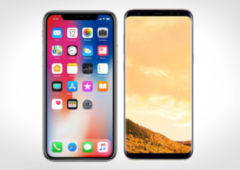 iphone x galaxy s9