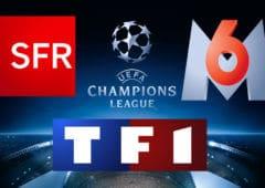 ligue des champions tf1 m6 sfr