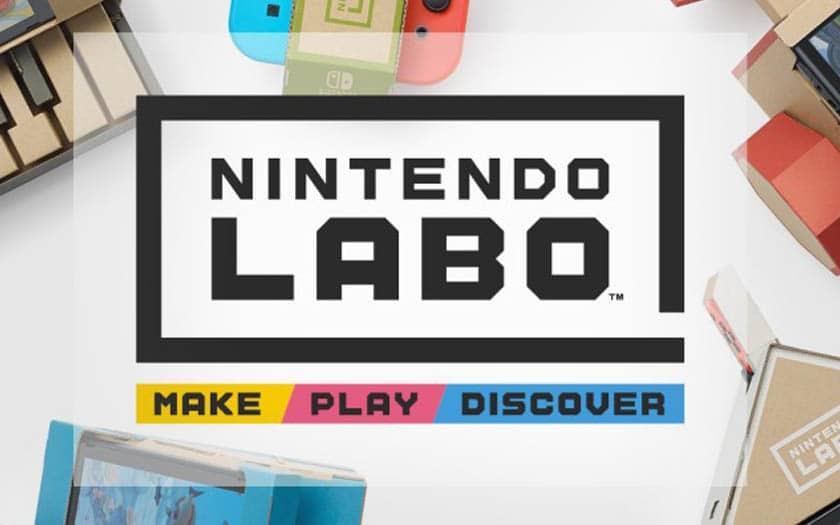 Nintendo Labo : Nouvelles fonctionnalités présentées