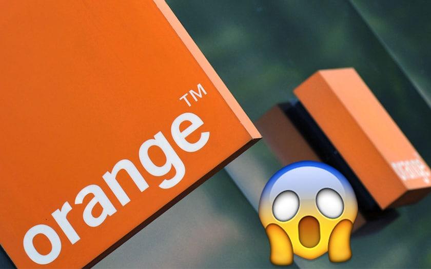 orange facture