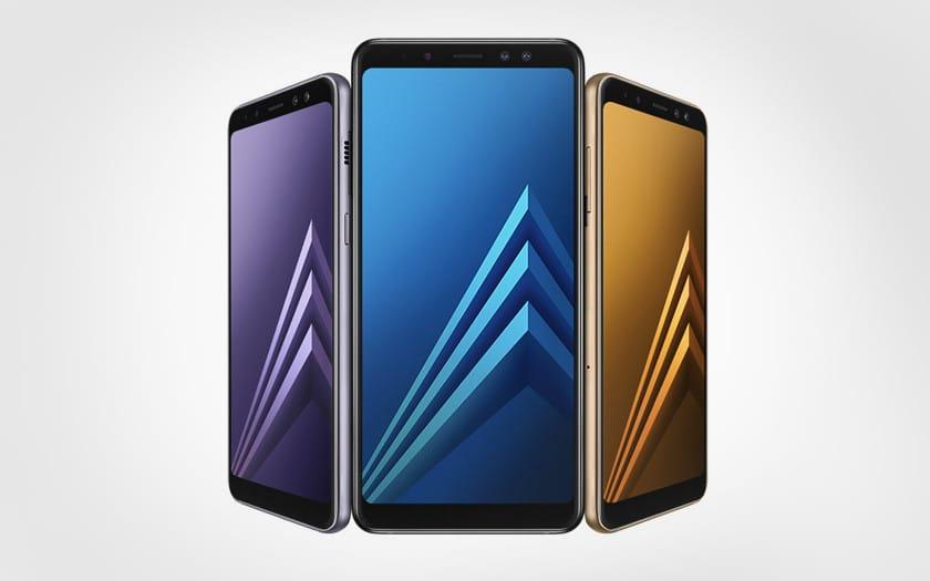 Samsung galaxy a8 2018 moins cher à 249 € chez boulanger