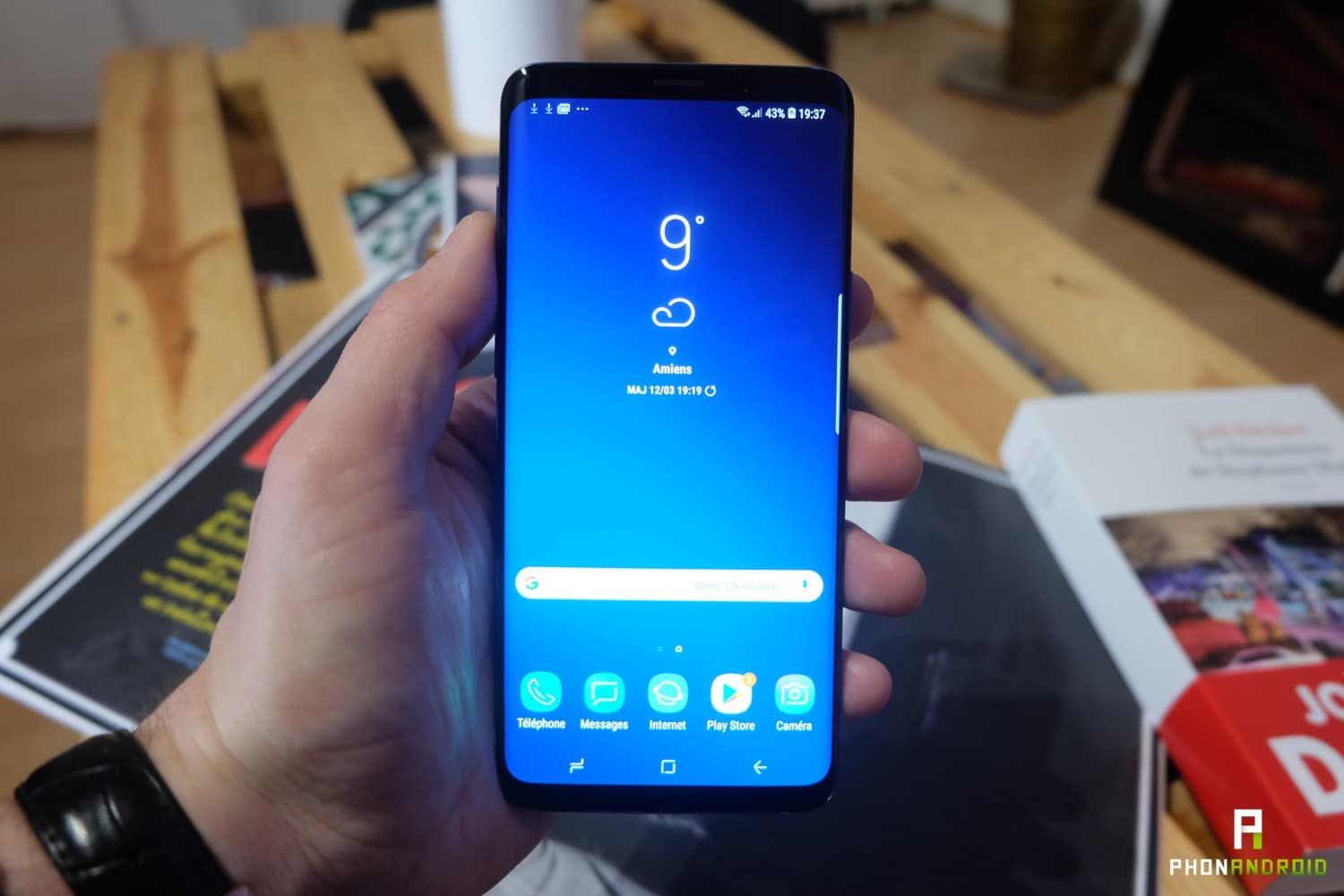 test samsung galaxy s9 plus