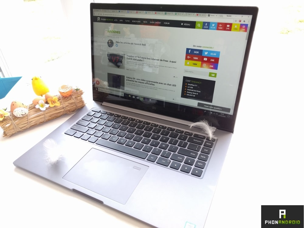 test xiaomi mi notebookpro