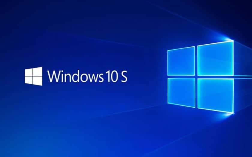 windows 10 S micorosoft abandon version legere simplifie