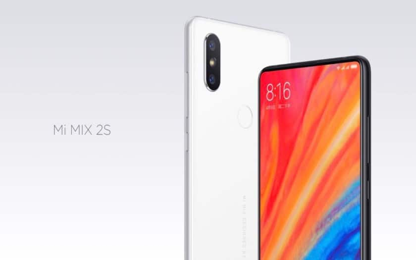 xiaomi mi mix 2s officiel 423 euros