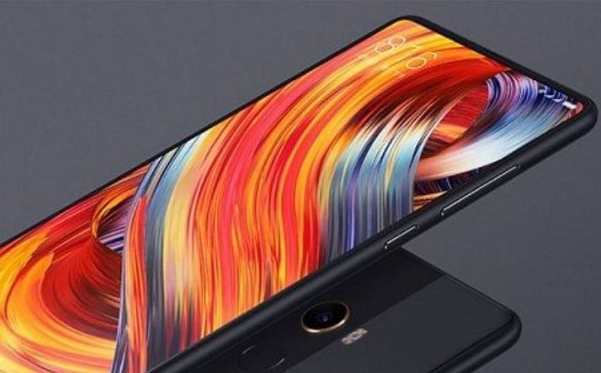 xiaomi mi mix 2s design borderless