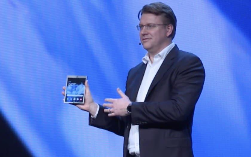 Galaxy X quoi peut bien servir smartphone pliant