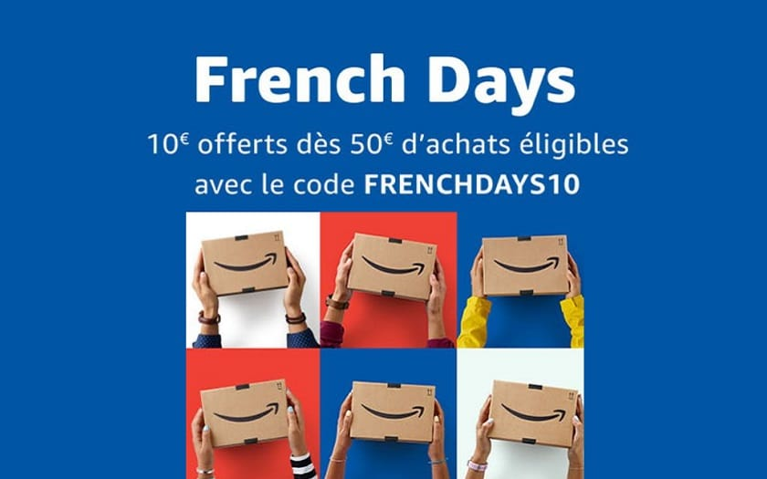 amazon french Day 10 euros reductions a partir de 50 euros achats