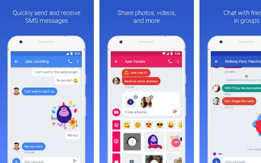 android messages sms pc