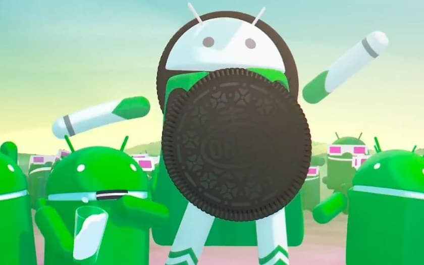 android oreo nougat repartition avril 2018