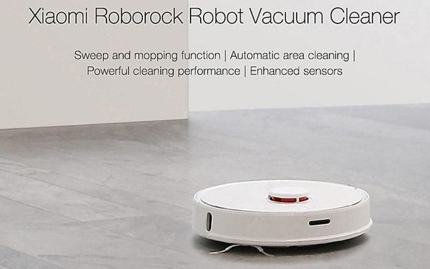 Bon plan aspirateur robot xiaomi roborock s50 for Aspirateur manuel pour piscine