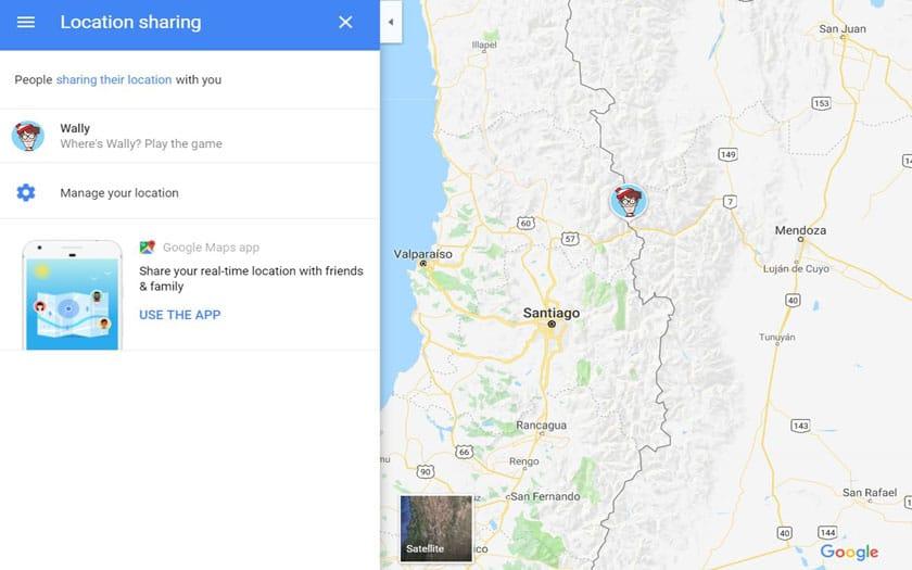 charlie google maps
