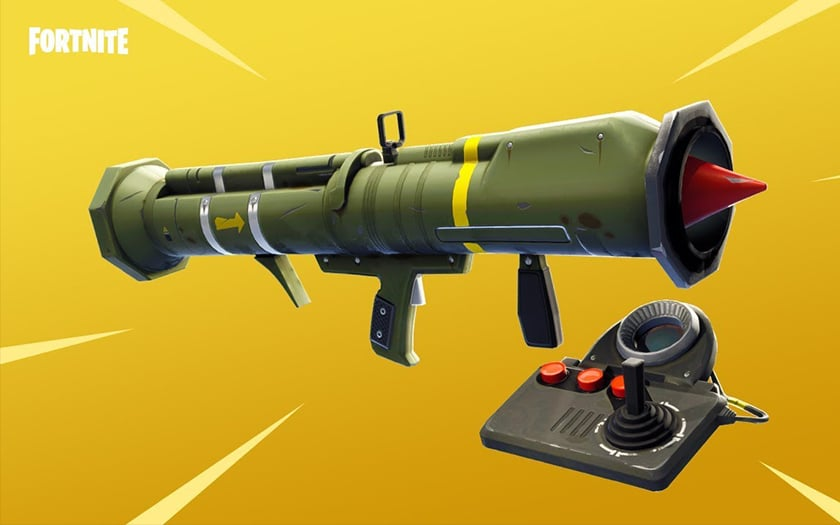 Fortnite missile guidé