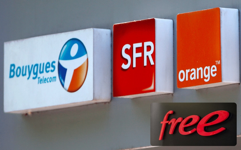 free orange sfr Bouygues