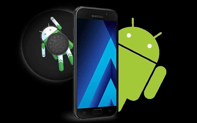 galaxy A7 android Oreo