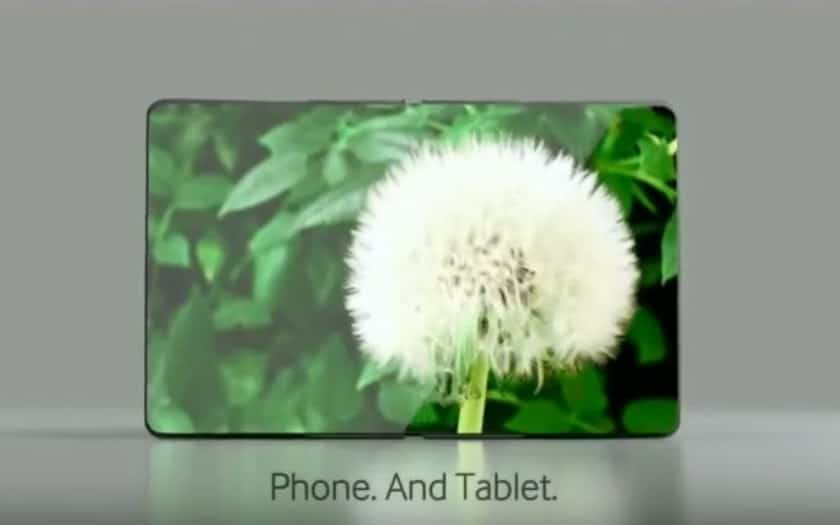 galaxy x a quoi sert smartphone pliant