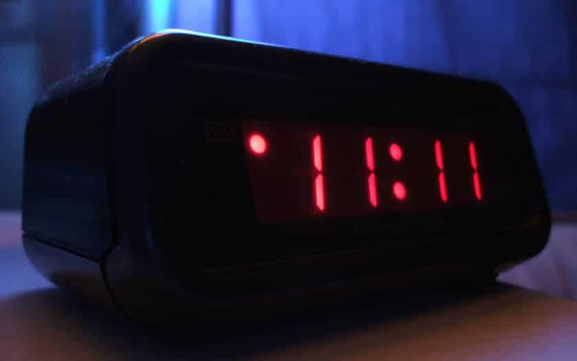 horloge heure reveil