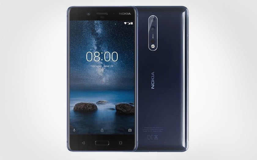 nokia 8 french days 299 € cdiscount