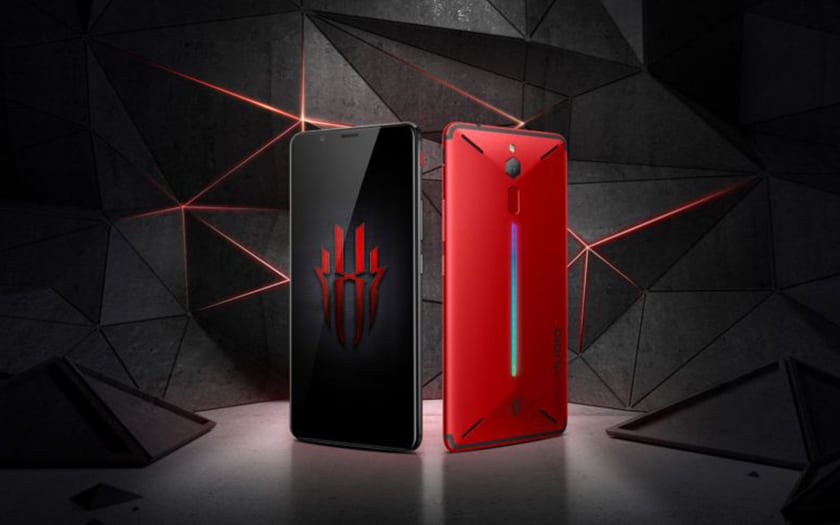 nubia zte red magic