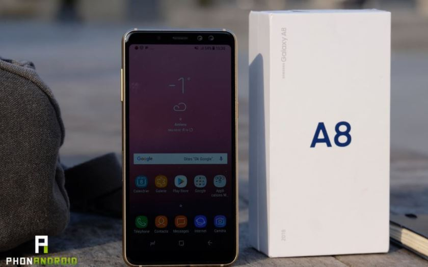 samsung galaxy a6 ecran infinity display