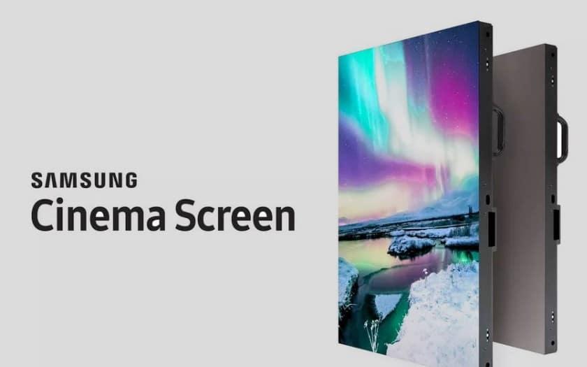 samsung onyx ecran cinema